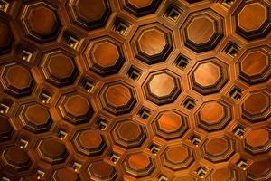 l'interno del soffitto del Rathaus di Amburgo foto