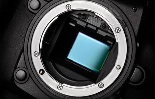 sensore della fotocamera foto