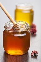 miele in barattolo foto