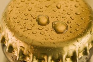 tappo di birra foto