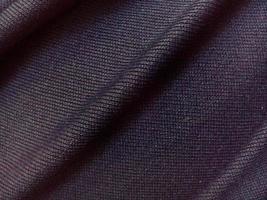 trama di tessuto liscio nero