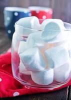 marshmallow bianco foto