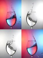 bicchiere di vino foto