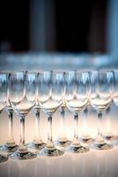 bicchieri di vino foto