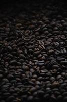 chicchi di caffè lunatici foto