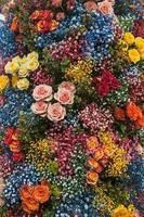 composizione di fiori colorati foto