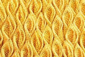 seta tessuto plissettato oro per lo sfondo foto