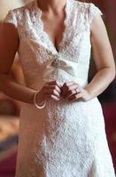 abito da sposa foto