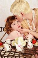 la mamma rende tutto migliore con un bacio foto