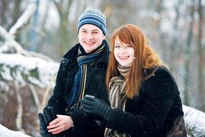 coppia felice foto