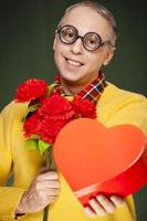San Valentino nerd irrimediabilmente innamorato foto