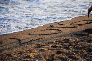 spiaggia amore sabbia 2016 foto