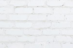 struttura moderna del muro di mattoni bianchi foto