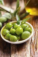 olio e olive foto