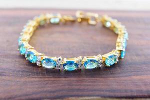 accessori per gioielli - bracciale con zaffiro