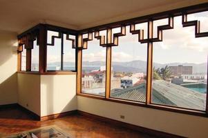 finestra art deco foto