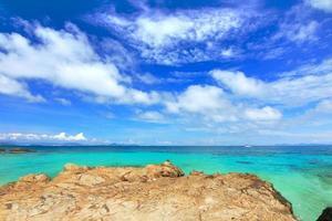 Paradise Beach nell'isola di koh maiton, phuket, thailandia