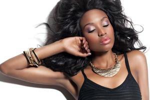 bella donna africana foto