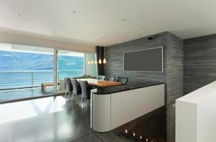 appartamento interno e moderno foto