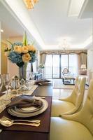 sala da pranzo di lusso
