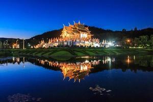 padiglione reale, il parco reale di rajapruek foto