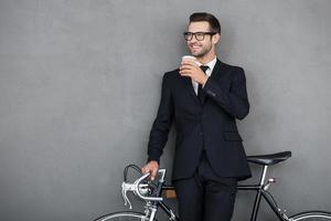 Uomo d'affari di successo. foto