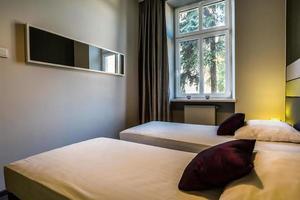 camera da letto per una coppia di amici