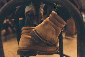primo piano degli stivali
