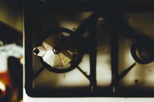 Fornello a gas a 2 fuochi foto