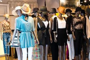 magazzino di moda foto