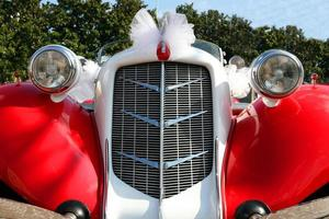 automobile antica foto