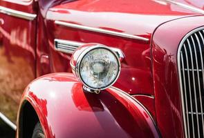 vecchia auto d'epoca. foto