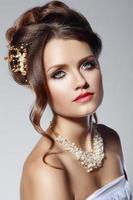 donna moda sposa foto