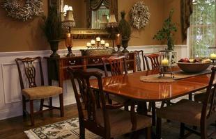elegante sala da pranzo