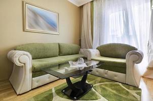 elegante soggiorno interno foto