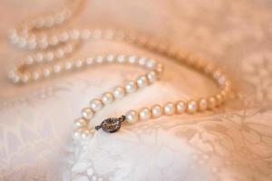 collana di perle foto