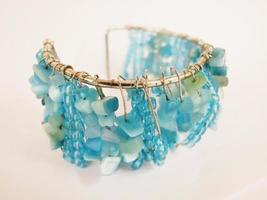 braccialetto blu foto