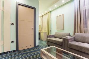 interno della camera d'albergo foto