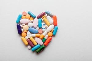 cuore di pillola foto