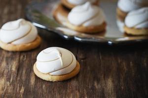 biscotti marshmallow foto