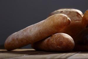 pane francese fresco foto