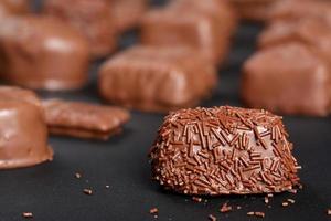 caramelle al cioccolato al latte gourmet foto