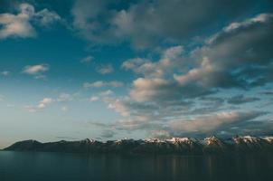 paesaggio delle montagne di Dalvik