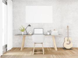 spazio di lavoro loft