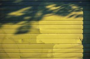 parete dipinta di giallo foto