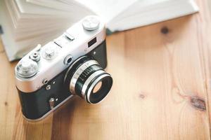 vecchia macchina fotografica d'epoca foto