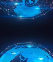 sfondo di tecnologia digitale