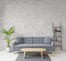 soggiorno in stile loft