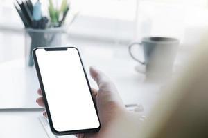 schermo mobile vuoto