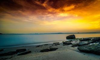 vista sulla spiaggia di singapore